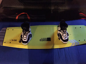 Ronix Parks Air Core 144 and Bindings 11 Wakeboard