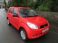 2006 '56' DAIHATSU TERIOS 1.5 S 5 DOOR IN BRIGHT RED