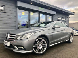 2011 Mercedes-Benz E250 Auto CDI Sport **GREY - RED HEATED LEATHER - FSH**