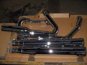 harley complete screamin eagle  nite stick exhaust