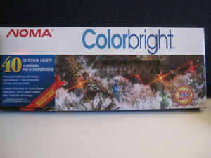 OUTDOOR RED MINI CHRISTMAS LIGHTS - 4 BOXES - NEW