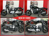 BRAND NEW Honda CB1100RS ABS. Darkness Black. £9,999 On The Road