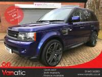 2010/10 Land Rover Range Rover Sport 3.0TD V6 Auto HSE in Bali Blue