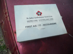 First  Aid  Metal  Box Saint John Ambulance