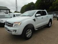 2014 FORD RANGER LIMITED 4X4 DCB 2.2 TDCI 6-SPEED AUTOMATIC PICK UP DIESEL