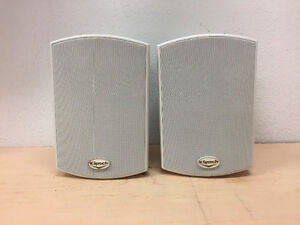 Klipsch Outdoor Speakers (Pair, WhKlipsch AW-400 2-way Reference