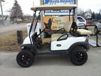 2014 White Club Car Precedent ( Golf Cart )
