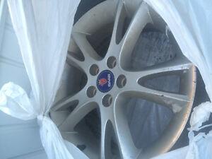 235/45r17 winter Tires and saab 9-5 rims