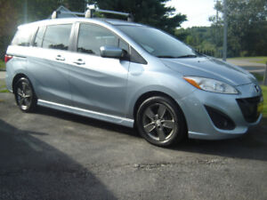 2012  MAZDA 5 WITH THIRD ROW SEATING