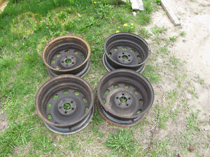 4-Rims, 5 bolts, VW jetta