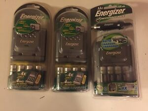 BRAND NEW Energizer 2500mA rechargeable AA batteries - $40 total