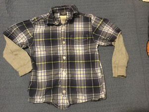 7 Brand Name Shirts Size 5T
