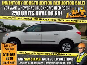 TRAVERSE - NEW! Engineered Finance Packages @ APPROVEDBYSAM.COM