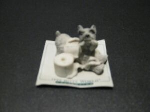 Itty Bitty World Collection by United Design - Schnauzer Dog