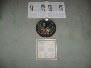 "Collector Plate ""The Legend of Tutankhamun"""