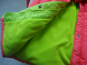 Brand new with tag IZOD Coral Winter Puffer Coat - Girls Size 14 Kitchener / Waterloo Kitchener Area image 3