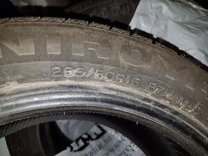 205/50 r16 4 pneus