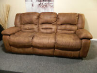 Brown Recliner Couch $150 or Best offer