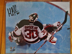 Martin Brodeur signed 8x10 photo
