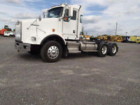 2012 Kenworth T800 Hiway Tractor - Day Cab - Heavy Spec