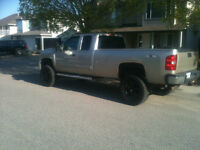 Lifted Chevy Silverado 4x4 2500 hd 2007 long box chevrolet