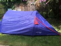 2/3 man tent good condition