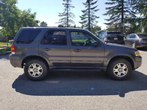 2006 Ford Escape Limited SUV 4x4 Loaded
