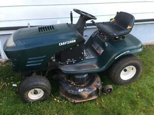 Craftsman ride-on lawnmower