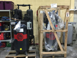 5 HP Quality Built Air Compressor by CHICAGO PNEUMATIC