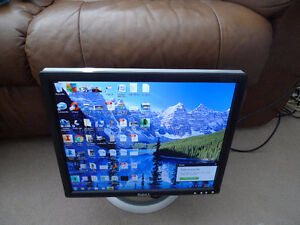 """Dell 1801FP with USB ports - LCD monitor - 18"""""""