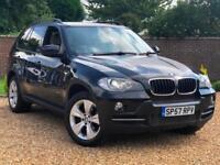 2007 57, BMW X5 3.0d auto SE 5 SEATS + SAT NAV + XENONS + REVERSE CAMERA