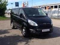 New Ford Transit Custom SWB 125ps Limited + FREE PLY Lease for £198 p/month