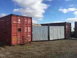 53' container with 20' yard space