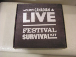 Molson Canadian Live Survival Kit London Ontario image 2