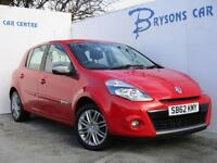 2012 62 Renault Clio 1.2 16v ( 75bhp ) Dynamique Tom Tom for sale in AYRSHIRE