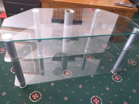 LCD LED 3 SHELF TV STAND Excellent