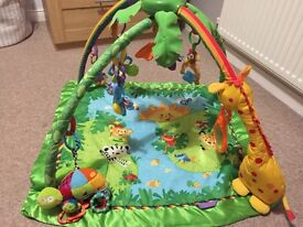 Fisher Price Jungle Play Mat/Gym