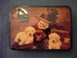 DUCKS UNLIMITED CANADA RUSSELL STOVER CHOCOLATES TIN CONTAINER