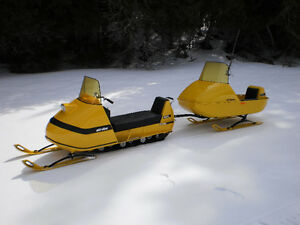 1970 Ski Doo Olympic 12/3 and Ski Boose Mark 2