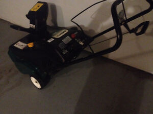 "5HP/21"" SNOWBLOWER Electric start"