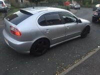 2003 seat Leon Cupra 1 year mot New engine fitted remapped may swap p/ex