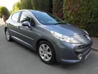 Peugeot 207 1.6 Diesel Sport 2008 Low Mileage 65k FSH Low Tax £30 MoT May 2019