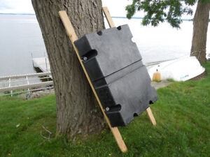 Dock Float, (Rugged Rectilinear HDPE)