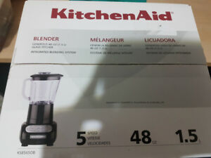 KitchenAid 5-Speed Blender. Brand new in box!