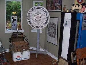 Vintage Carnival Gaming Wheel