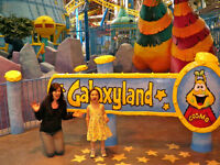 7 WEST EDMONTON MALL Waterpark /Galaxyland Tickets URGENT!!!