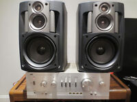 ampli vintage jvc made in japan et speakers jvc (usa)