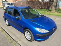 Peugeot 206 SW 2.0HDi 90 ( a/c ) 2004MY S
