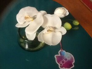 Artificial orchid bloom
