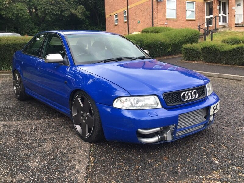 audi s4 b5 twin turbo nogaro blue modified in high. Black Bedroom Furniture Sets. Home Design Ideas